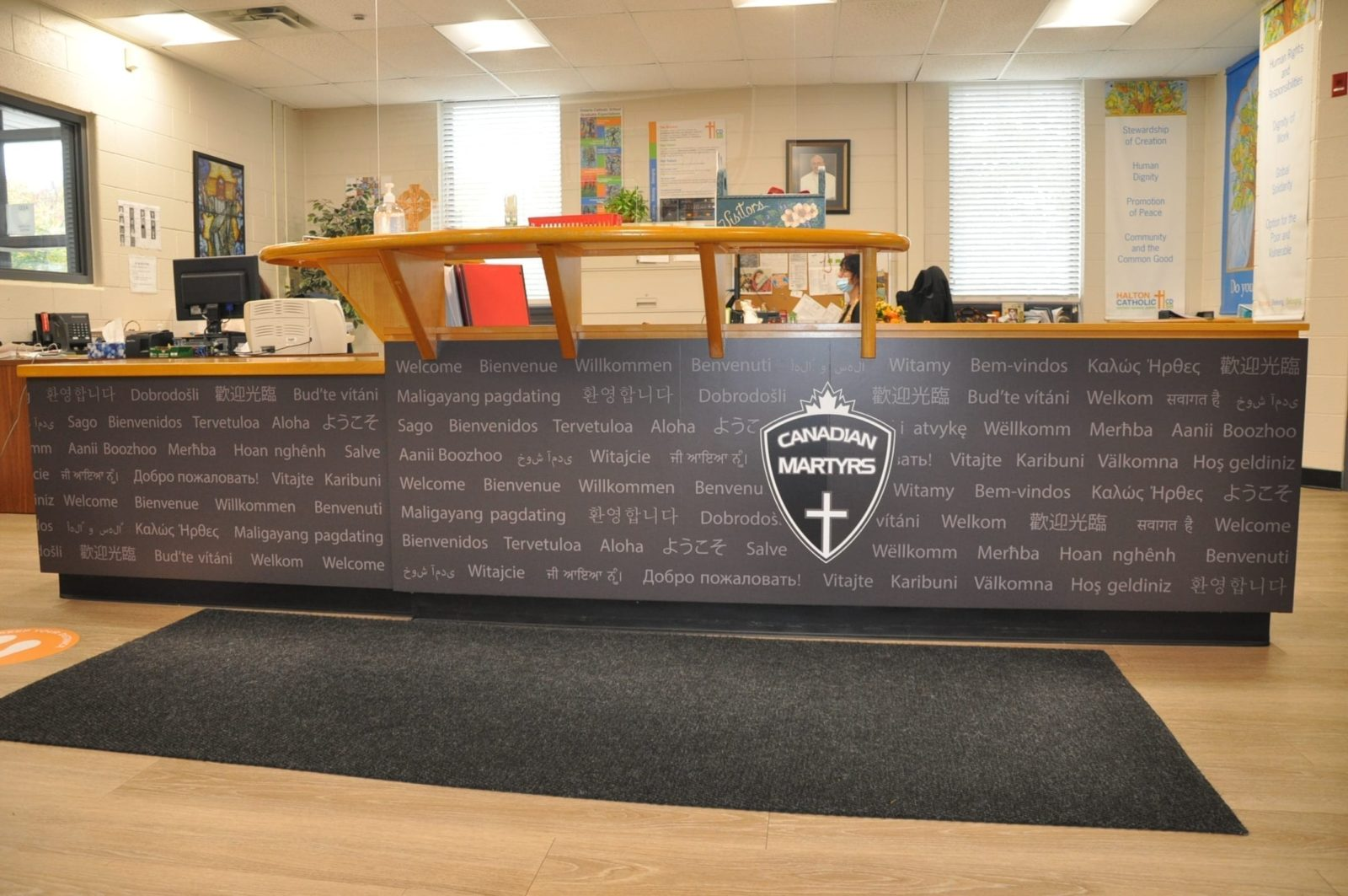 Canadian Martyrs Desk Wrap