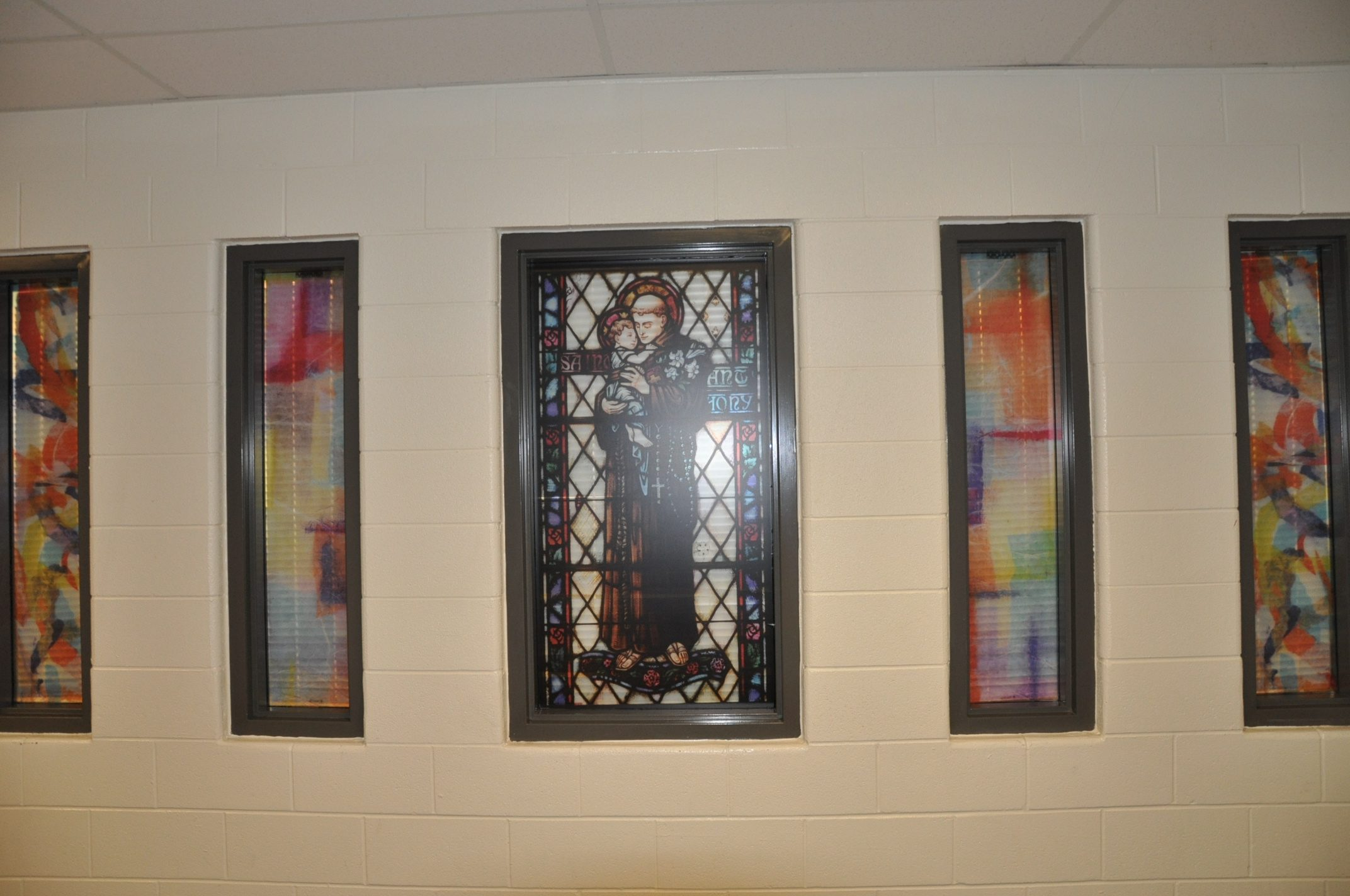 St. Anthony of Padua window covering