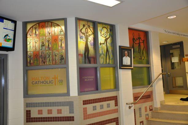 St. John Paul II Window covering